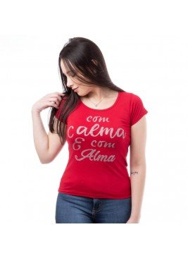 blusa feminina frase moving 7