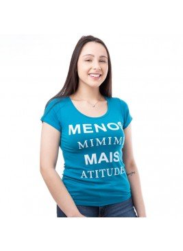 blusa feminina frase moving 3