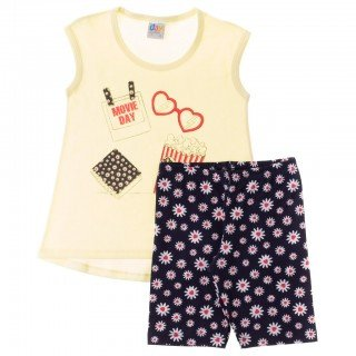 conjunto infantil movie feminino kaiani