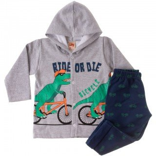 conjunto infantil masculino ride time kids 16