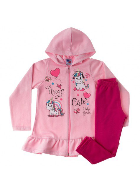 conjunto infantil feminino magic hdu 34