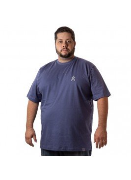 camiseta masculina plus size indigo stick boy