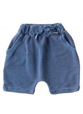 bermuda saruel infantil masculino different azul moda love